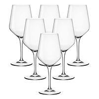 Bộ 6 Ly Rượu Thủy Tinh Electra Bormioli Rocco 192341B32021990 (350ml / Ly)