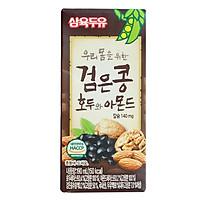 Thùng 24 Hộp Sữa Đậu Đen, Óc Chó, Hạnh Nhân Sahmyook Foods (190ml / Hộp)