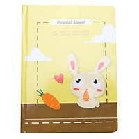 Sổ Vivaone Bìa Cứng 13*18 - Thỏ - Animal Lover