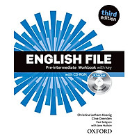 English File: Pre-intermediate - Workbook With Key And iChecker (French Edition)