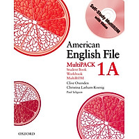 American English File Level 1 Student and Workbook Multipack A