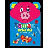Tô Màu Động Vật - Song Ngữ Anh - Việt (Tập 2)