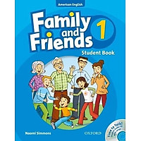 Family and Friends (AME) 1 Student Book & Student CD Pack