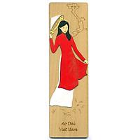 Bookmark Veneer Màu Việt Net - Áo Dài Việt Nam Mẫu 3