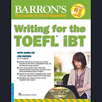 Barron's - Writing For The TOEFL IBT (Kèm CD)