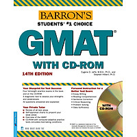 Barron's GMAT 14th Edition (Kèm CD)