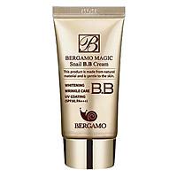 Kem Nền BB Cream Chiết Xuất Tự Nhiên Và Dịu Nhẹ Từ Dịch Ốc Sên Bergamo Magic Snail B.B Cream SPF50 Pa+++ - BERGAMO03 - 50ml