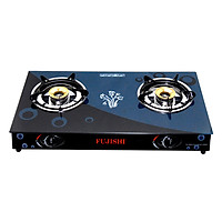 Bếp Gas Chén Đồng Kính Cường Lực Fujishi FM-H10-D - Hàng Chính Hãng