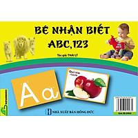 Thẻ Flashcard Bé Nhận Biết ABC, 123