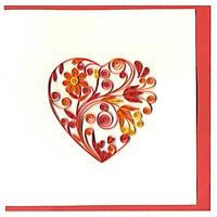 Thiệp Giấy Xoắn Việt Net - Love Valentine - Big Heart Mẫu 2