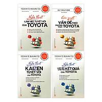 Combo Bí Quyết Thành Công Của Toyota (Bộ 4 Cuốn)