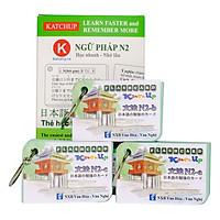 COMBO Trọn Bộ KatchUp Flashcard Trung Cấp Tiếng Nhật N2 - High Quality