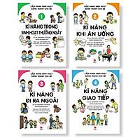 Cẩm Nang Sinh Hoạt Bằng Tranh Cho Bé (Trọn Bộ 4 Cuốn)