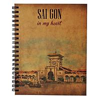 Sổ Tay Sài Gòn In My Heart - Chợ Bến Thành