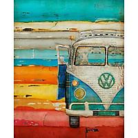 Sổ Tay Xe Cổ - Colorful Volwagen