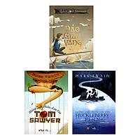 Combo Những Cuộc Phiêu Lưu Của Huckleberry Finn - Những Cuộc Phiêu Lưu Của Tom Sawyer - Đảo Giấu Vàng