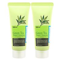 Combo 2 Sữa Rửa Mặt Trà Xanh Benew Green Tea Foam Cleansing (100ml / Chai)
