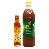 Combo Thực Phẩm Chức Năng Mật Ong Thiên Nhiên 5 Sạch Honeyboy (250ml) + Thực Phẩm Chức Năng Mật Ong Thô Honeyboy (1000ml)