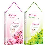 Combo Gervenne 3: Hộp Quà Sữa Tắm Trắng Da Hương Hoa Lily Xanh (450g) + Hộp Quà Sữa Tắm Trắng Da Hương Hoa Lily Hồng (450g)