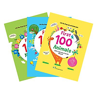 Combo Lift-The-Flap - Lật Mở Khám Phá - First 100 Words + First 100 Animals + First 100 Numbers