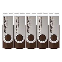 Bộ 5 USB 32GB Team Group INC E902 - Hàng Chính Hãng