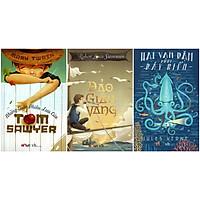 Combo Những Cuộc Phiêu Lưu Của Tom Sawyer - Đảo Giấu Vàng - Hai Vạn Dặm Dưới Biển (Đinh Tị Books)