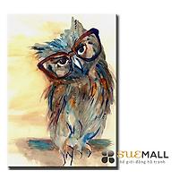 Tranh Treo Tường Canvas Suemall CV1408109 - Cú Bác Học
