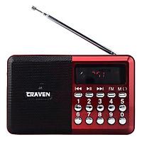 Loa Nghe Nhạc Kèm Radio Craven CR-26 (Đỏ) + Tặng 1 Cốc Sạc - Hàng Nhập Khẩu