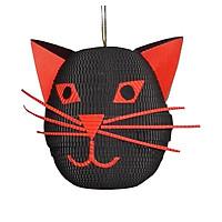 Mặt Mèo Đen Giấy Handmade Paper Craft - S
