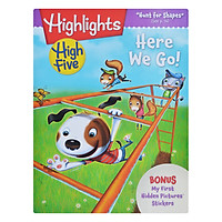 Highlights High Five International Edition - Here We Go (Bonus My First Hidden Pictures Stickers)