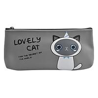 Bóp Viết Lovely Cat - Xám