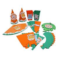 Bộ Trang Trí Tiệc Cơ Bản 1 - Safari Jenny Party