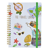Sổ Lò Xo Lover Journal - The Travel Lover