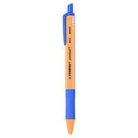Bút Bi Bấm Stabilo Ball Point Xanh - POINT-BU
