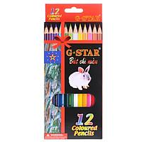 Bút Chì 12 Màu G-Star Dài