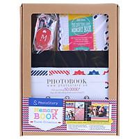 Scrapbook PhotoStory - Hành Trình Của Cảm Xúc (Bộ Giấy Mỹ Thuật Đen)