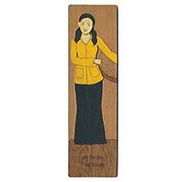 Bookmark Veneer Màu Việt Net - Dung Dị Áo Bà Ba