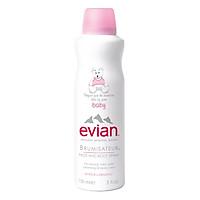 Nước Xịt Khoáng Mặt Và Toàn Thân Cho Bé Evian Baby Face And Body EV150ML (150ml)