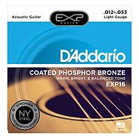 Bộ Dây Đàn Guitar Acoustic D'Addario EXP16