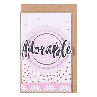 Thiệp Nhỏ Feminility - Adorable GC10RE60