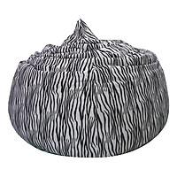 Ghế Lười Hình Giọt Nước Phú Mỹ GH-GINU-HVNV-120 (Hoa Văn Ngựa Vằn)