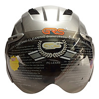 Mũ Bảo Hiểm GRS A737K - Bạc Bóng