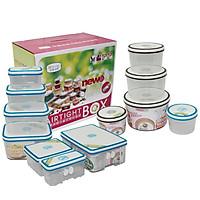 Bộ 21 Hộp Nhựa Homio PL.13-004