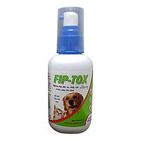 Thuốc Phun Xịt Ve, Ghẻ, Bọ Chét Chó Mèo Hanvet Fiptox (100ml)