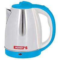 Bình Đun Siêu Tốc Inox Honey'S HO-EK15S186 - Xanh dương - 1.8L - Hàng chính hãng