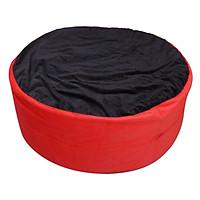Ghế Lười Hình Trụ Phú Mỹ GH-HTRU-DEDO-080 (Đen Đỏ)