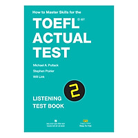 How To Master Skills For The TOEFL iBT Actual Test: Listening Test Book 2 (With Audio CD)