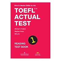 How To Master Skills For The TOEFL iBT Actual Test: Reading Test Book 1