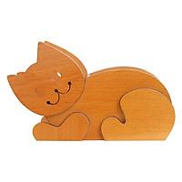 Hộp Cắm Bút Gỗ Mèo Nhatvywood HV 03