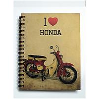Sổ Tay Xe Cổ - I Love Honda